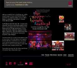 The Saarc Bands Festival , November 30, to December 2, 2007