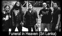 Funeral in Heaven (Sri Lanka) - 13th Decmber 2010  6 pm onwards