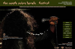 The South Asian Bands Festival 2010, December 2 to December 4, 2011